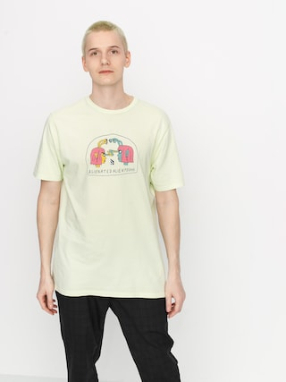 T-shirt Volcom Subjects (key lime)