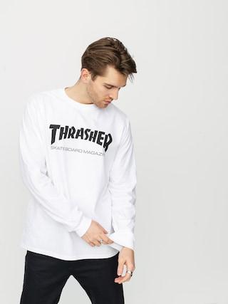 Longsleeve Thrasher Skate Mag (white)