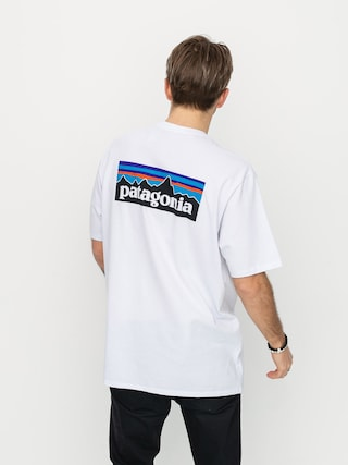 T-shirt Patagonia Logo Responsibili (white)