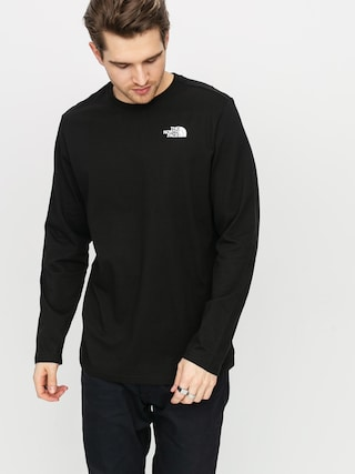 Longsleeve The North Face Redbox (black)