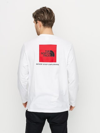 Longsleeve The North Face Redbox (white)