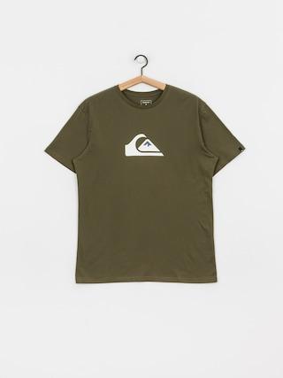 T-shirt Quiksilver Comp Logo (kalamata)