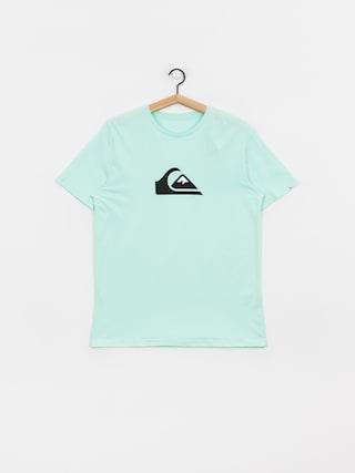 T-shirt Quiksilver Comp Logo (beach glass)