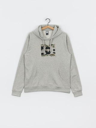 Bluza z kapturem DC Star HD (grey heather/camo)