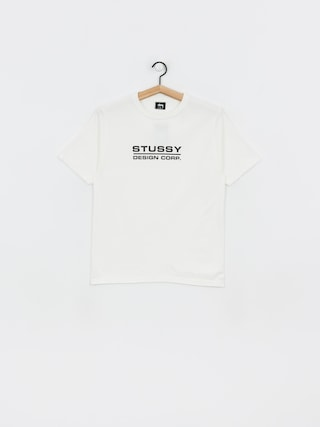 T-shirt Stussy Design Corp Pig Dyed Wmn (natural)