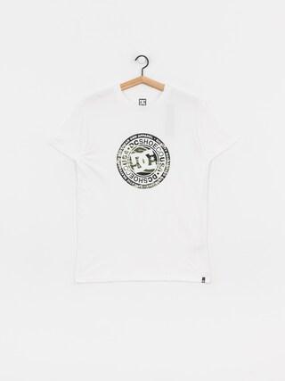T-shirt DC Circle Star 3 (snow white/camo)