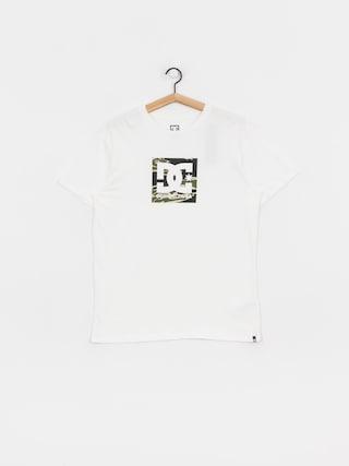 T-shirt DC Square Star 2 (snow white/camo)
