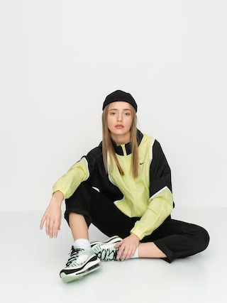 Kurtka Nike Wvn Piping Wmn (limelight/black/black)