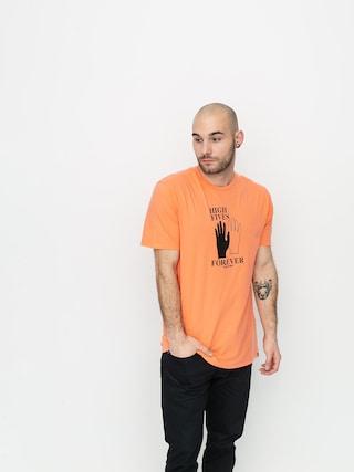 T-shirt Volcom High5 Forever Ltw (salmon)