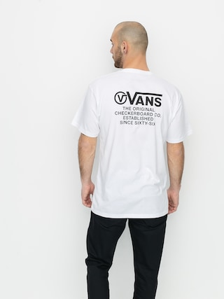 T-shirt Vans Distortion Type (white)
