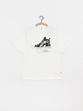 T-shirt Converse Art (optical white)