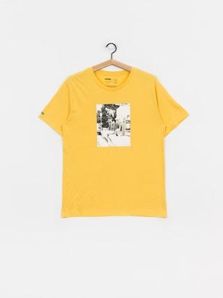 T-shirt Brixton Cart (yellow)