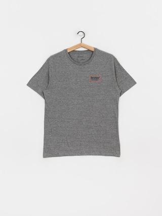 T-shirt Brixton Palmer Prem (heather grey/orange)