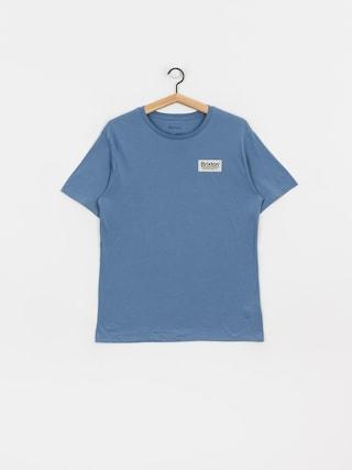 T-shirt Brixton Palmer Prem (slate blue)