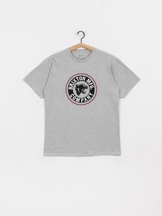 T-shirt Brixton Forte Stt (heather grey)