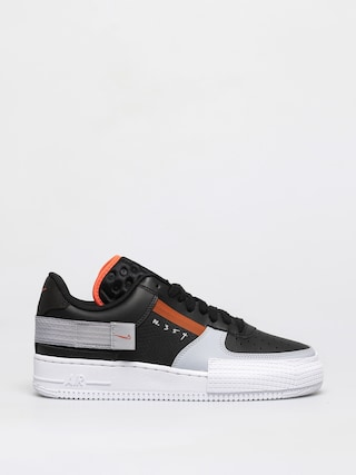 Buty Nike Air Force 1 Type (black/hyper crimson wolf grey white)