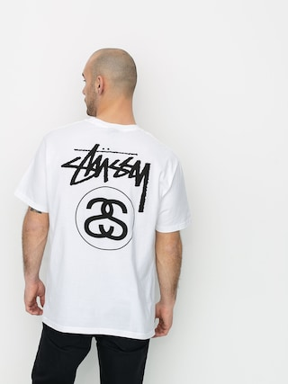 T-shirt Stussy Stock Link (white)