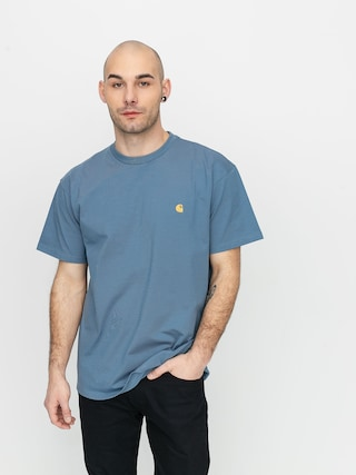 T-shirt Carhartt WIP Chase (mossa/gold)