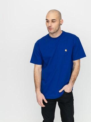 T-shirt Carhartt WIP Chase (submarine/gold)