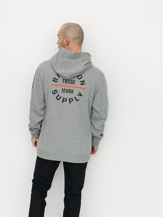 Bluza z kapturem Brixton Oath VI HD (heather grey)