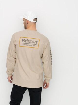 Longsleeve Brixton Palmer II Stt (sand)