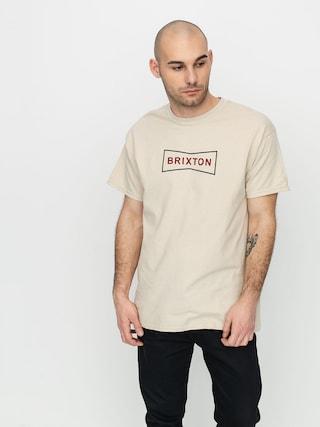 T-shirt Brixton Wedge II Stt (vanilla)