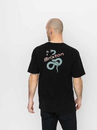 T-shirt Brixton Mamba Stt (washed black)