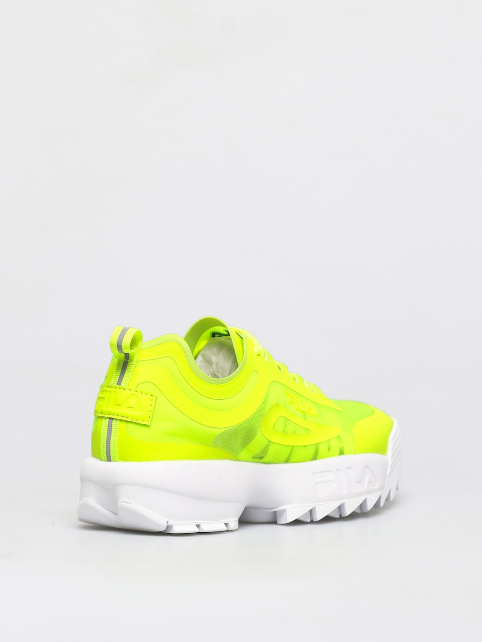 Buty Fila Disruptor Run (neon lime)
