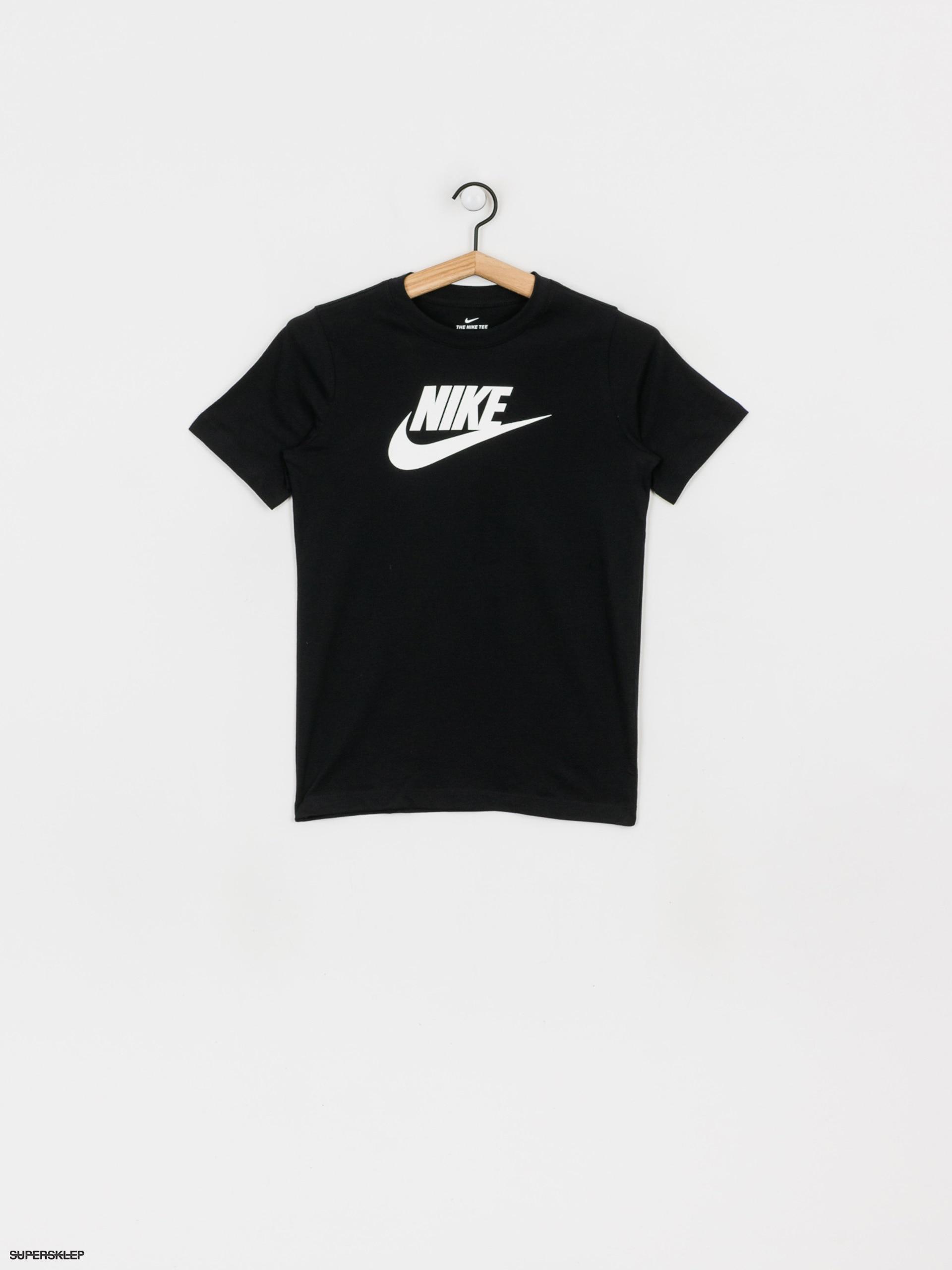 T shirt Nike Futura Icon JR Td (blackwhite)