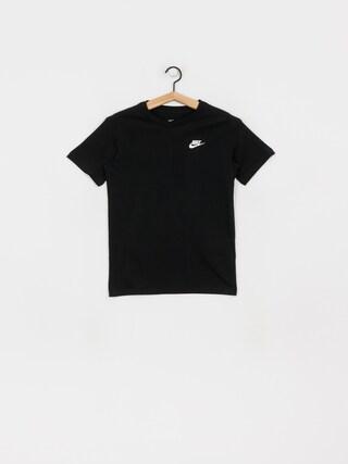 T-shirt Nike Emb Futura JR (black/white)
