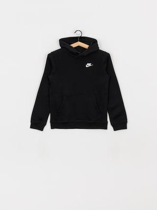 Bluza z kapturem Nike Club JR HD (black/white)