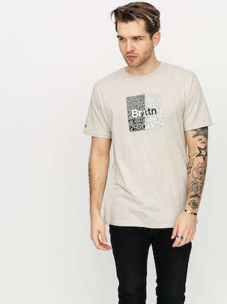 T-shirt Brixton Crowd Art (stone)