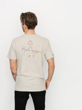 T-shirt Brixton Beaufort (stone)