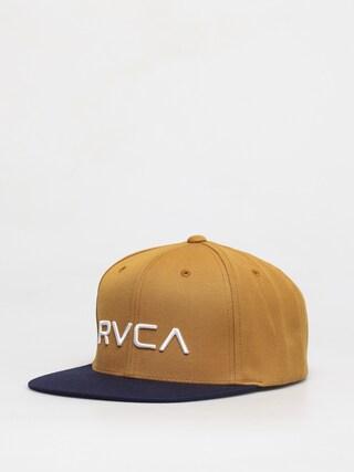 Czapka z daszkiem RVCA Rvca Twill Snapback ZD (tan navy)