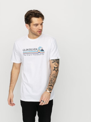 T-shirt Quiksilver Stone Cold Classic (white)