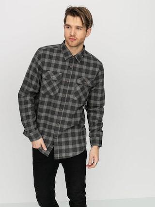 Koszula Brixton Bowery Flannel (black/heather grey)