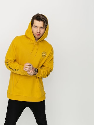 Bluza z kapturem Brixton Oath VI HD (sunset yellow)