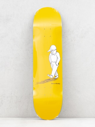 Deck Polar Skate Dane Brady Alone (yellow)