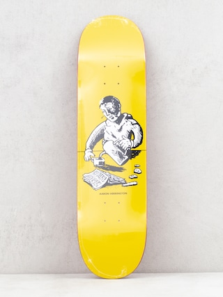 Deck Polar Skate Aaron Herrington Breakfast (yellow)