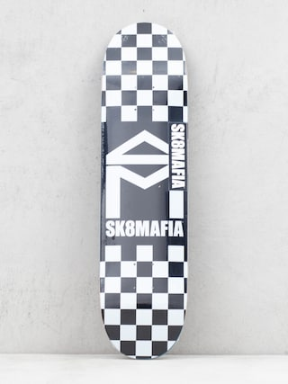 Deck Sk8Mafia House Logo (checker black)