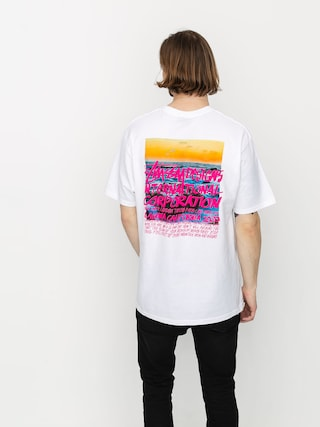 T-shirt Stussy Clear Day (white)