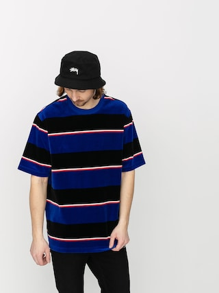 T-shirt Stussy Velour Stripe (blue)