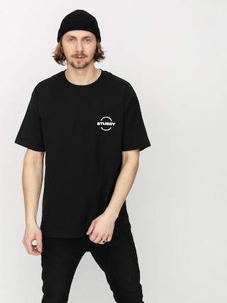T-shirt Stussy City Circle (black)