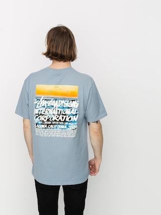 T-shirt Stussy Clear Day (slate)
