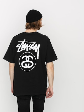 T-shirt Stussy Stock Link (black)