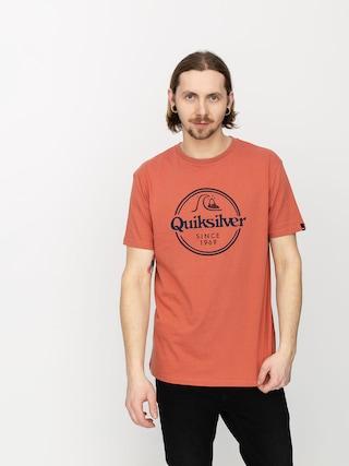 T-shirt Quiksilver Words Remain (redwood)