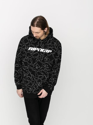 Bluza z kapturem RipNDip Line Camo HD (3m black)