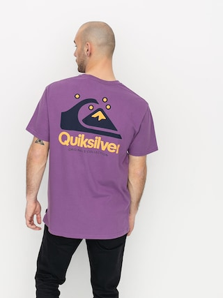T-shirt Quiksilver Og Quik Original (crushed grape)