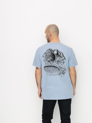 T-shirt Quiksilver Og Surf Fantasy (zen blue)