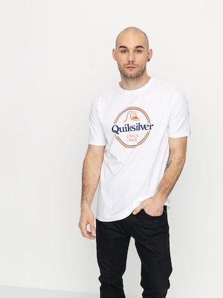 T-shirt Quiksilver Words Remain (white)
